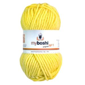 Yellow 113 - Wool Balls 50g For DMC Myboshi Beanie Hats